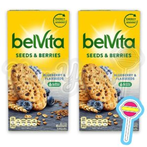 Belvita Blueberry and Flax Seed x 2
