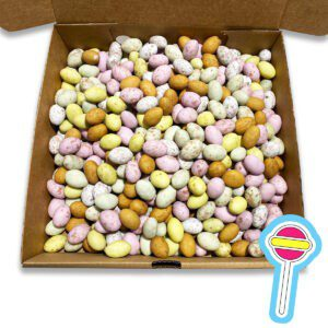 1kg Milk Chocolate Speckled Eggs - Riddlers Sweets