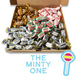 The Minty One, 1kg of Mint Sweets
